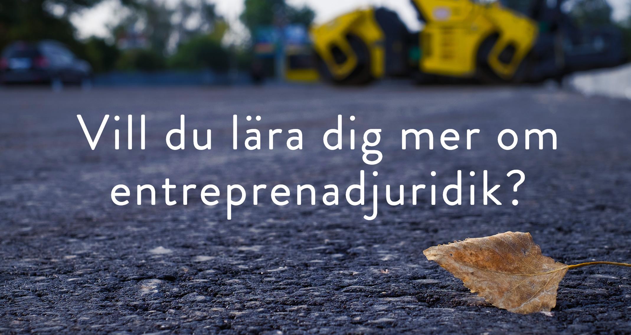 Rabatterade kurser i entreprenadjuridik för våra användare